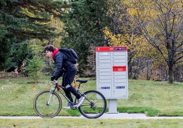 Canada Post canceled the community mailbox program.