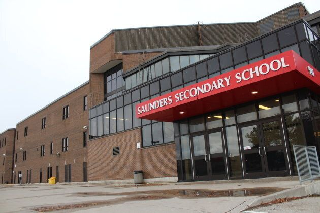 Michael Deeb had been vice-principal at Saunders Secondary School in London, Ont.
