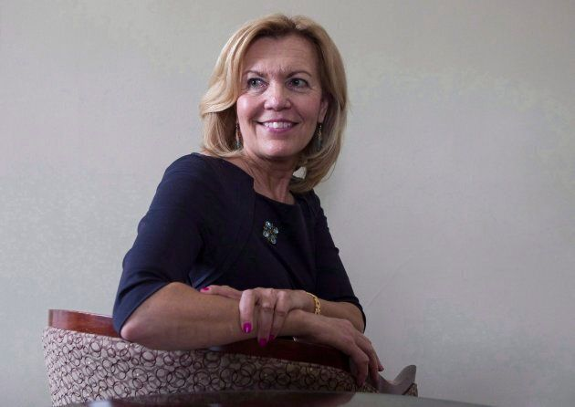 Ontario Progressive Conservative party leadership candidate Christine Elliott is photographed in her...