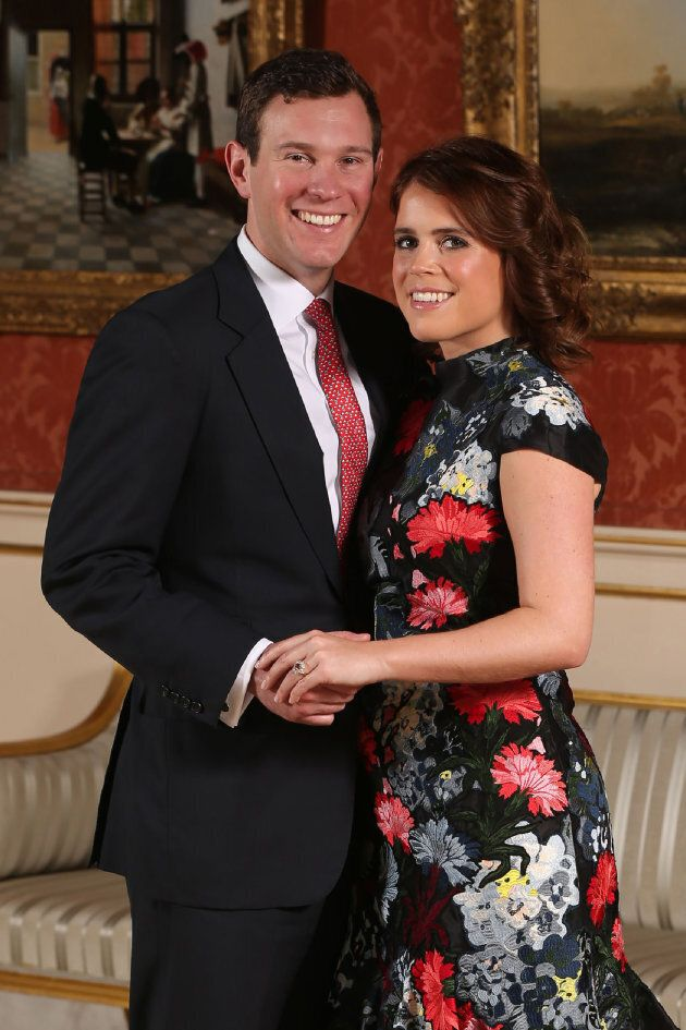 Princess Eugenie and her fiancé Jack Brooksbank.