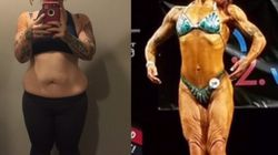 This Woman Went From Avoiding The Beach To Competing In Figure