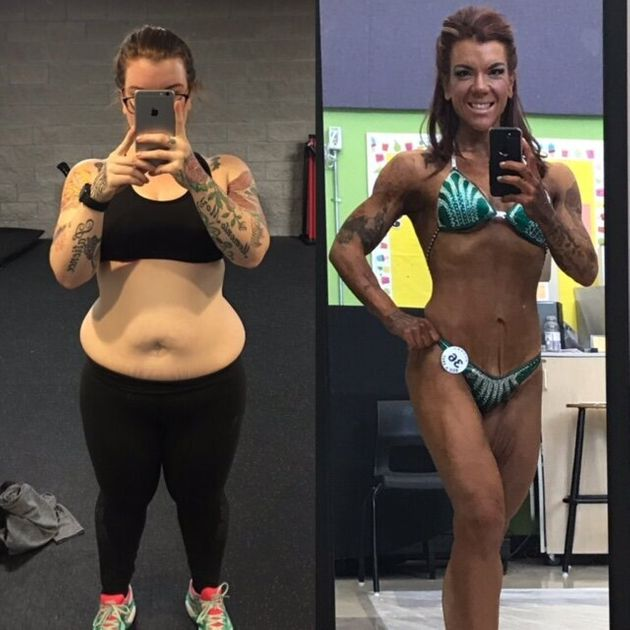 How This Nova Scotia Woman Went From Avoiding The Beach To Competing In Figure