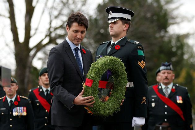 Here's Why Trudeau's Presence At Military Events Is An Insult To