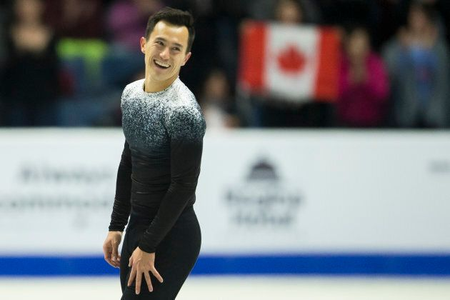 Which skate first? Figure skater Patrick Chan has ritual before he