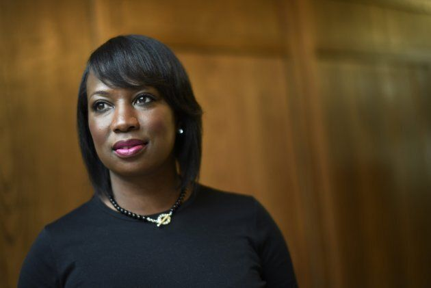 Celina Caesar-Chavannes, the Liberal MP for Whitby, is photographed at the University of Toronto's Hart...