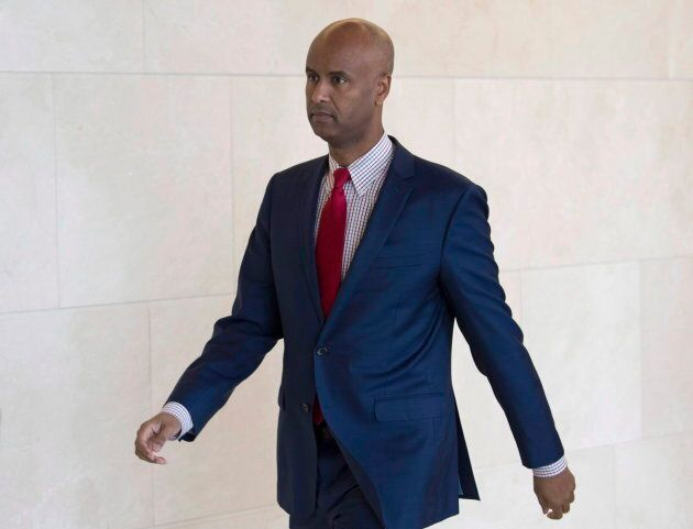 """Immigration Minister Ahmed Hussen helped introduce a pilot initiative to """"name-blind"""" job applications at some federal departments."""