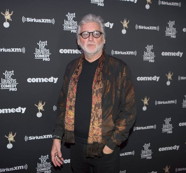Gilbert Rozon poses as he arrives for the Just for Laughs awards show at the annual comedy festival in...