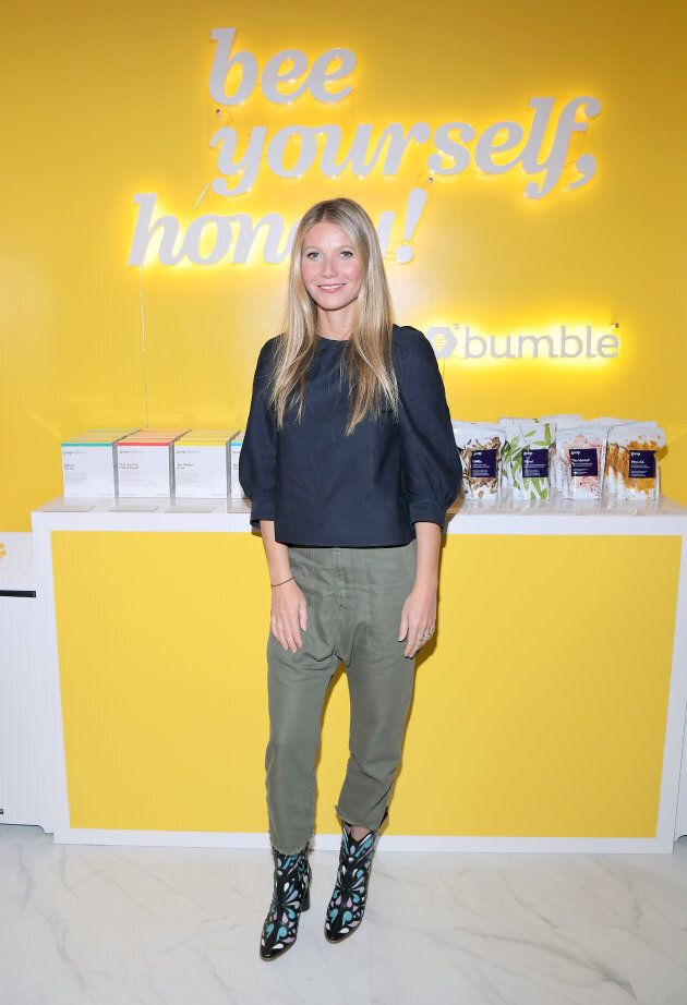 Gwyneth Paltrow attends Bumble Hive L.A.'s debut on Jan.