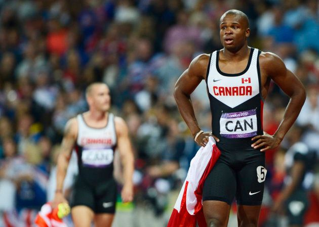 Oluseyi Smith at the 2012