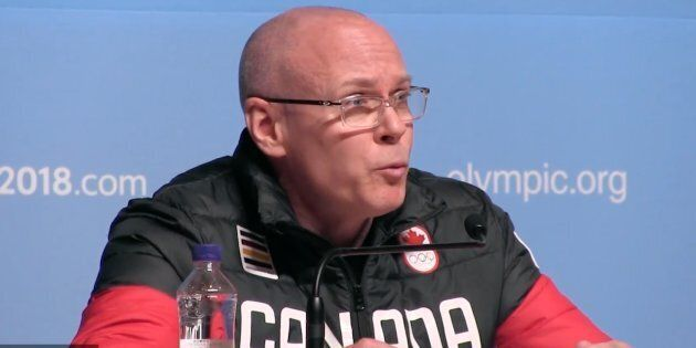 Eric Myles, the Canadian Olympic Committee's executive director, said a verbal exchange between a Canadian...
