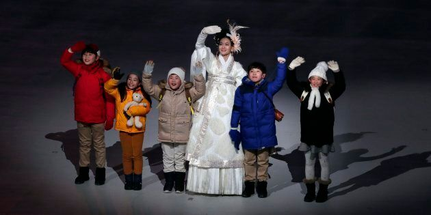 These adorable kids stole the show at the opening ceremony of the 2018 Winter Olympics in PyeongChang,...