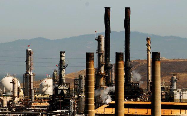 The Chevron Corp. refinery in Richmond, Cali.