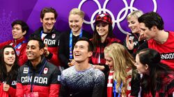 Canadian Figure Skaters All In For Olympic Gold At Team