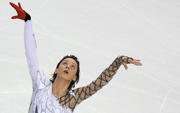 American skater Johnny Weir's memorable swan costume from the 2006
