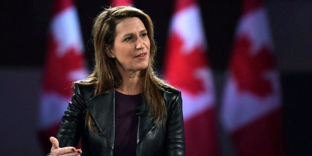 Ontario PC Party leadership candidate Caroline Mulroney participates in a Q&A at the Manning Networking...
