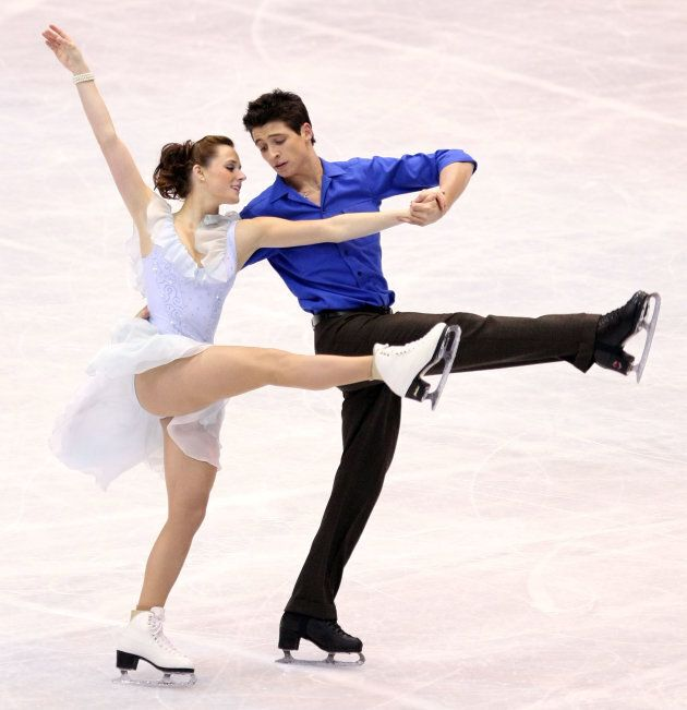 The pair compete at the ISU Grand Prix of Figure Skating NHK Trophy on Dec. 1, 2007 in Sendai,