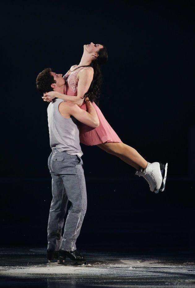 Virtue and Moir perform at the ISU Grand Prix of Figure Skating Final on Dec. 8, 2013 in Fukuoka,