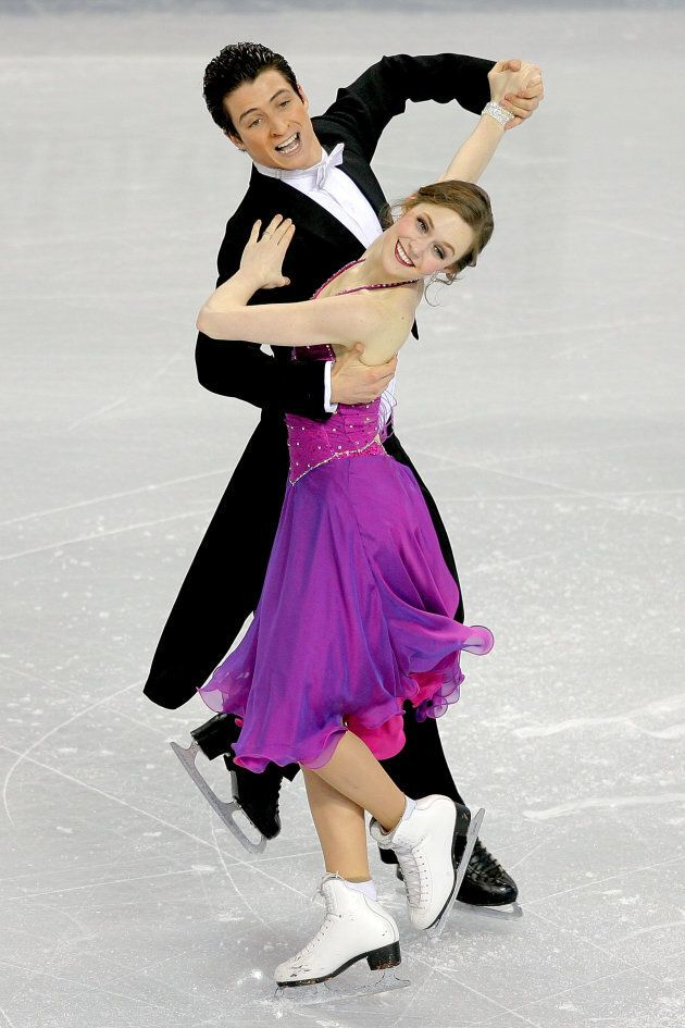 Moir and Virtue at the Four Continents Figure Skating Championships at Pacific Coliseum on Feb. 4, 2009 in Vancouver, B.C.