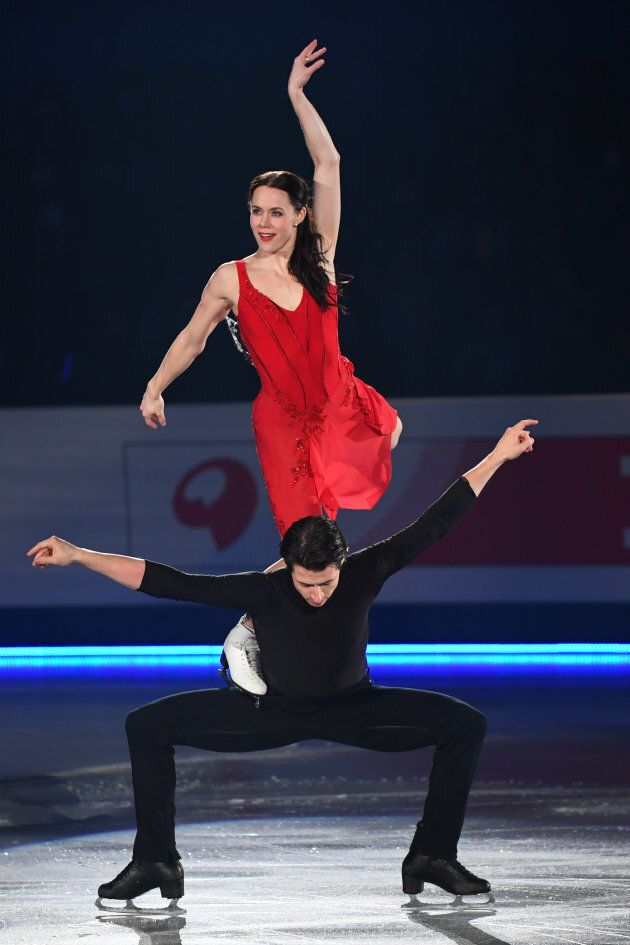 Virtue and Moir perform at the ISU Junior & Senior Grand Prix of Figure Skating Final on Dec. 10, 2017...