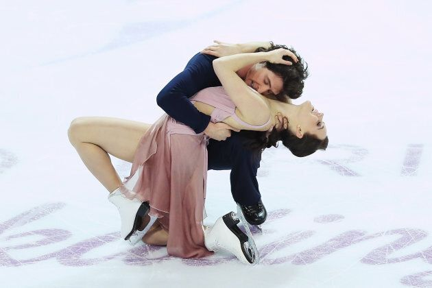 Virtue and Moir compete at the Grand Prix of Figure Skating Final on Dec. 10, 2016 in Marseille,