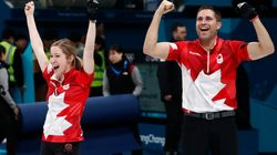 Canadian Curling Duo Beat Switzerland For