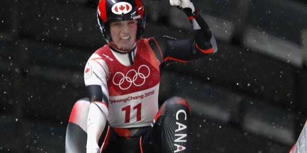 Canada's Alex Gough has won bronze in