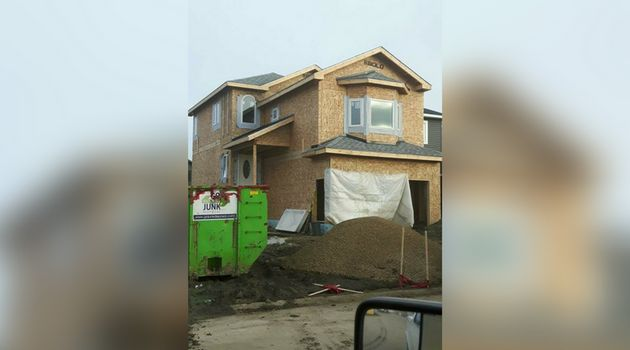 Bill and Carrie Pendergasts' Fort McMurray home under