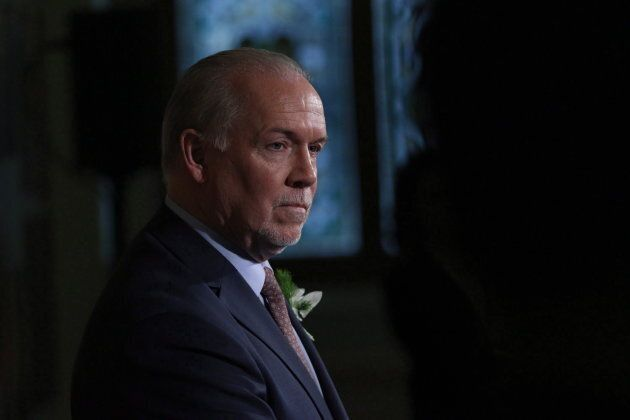 B.C. Premier John