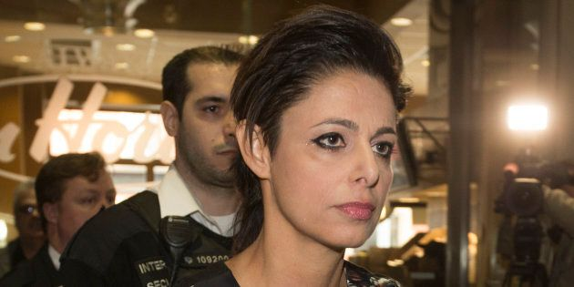 Marie Henein, defence attorney for former CBC host Jian Ghomeshi, is seen after a court appearance to...