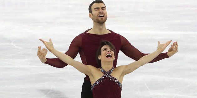 Canada's Meagan Duhamel and Eric Radford won bronze in pairs figure skating at the PyeongChang
