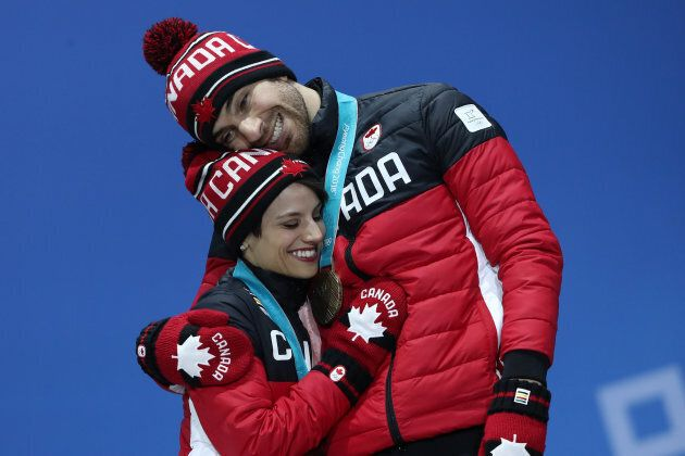Bronze medalists Meagan Duhamel and Eric Radford have said they are hanging up their skates after the