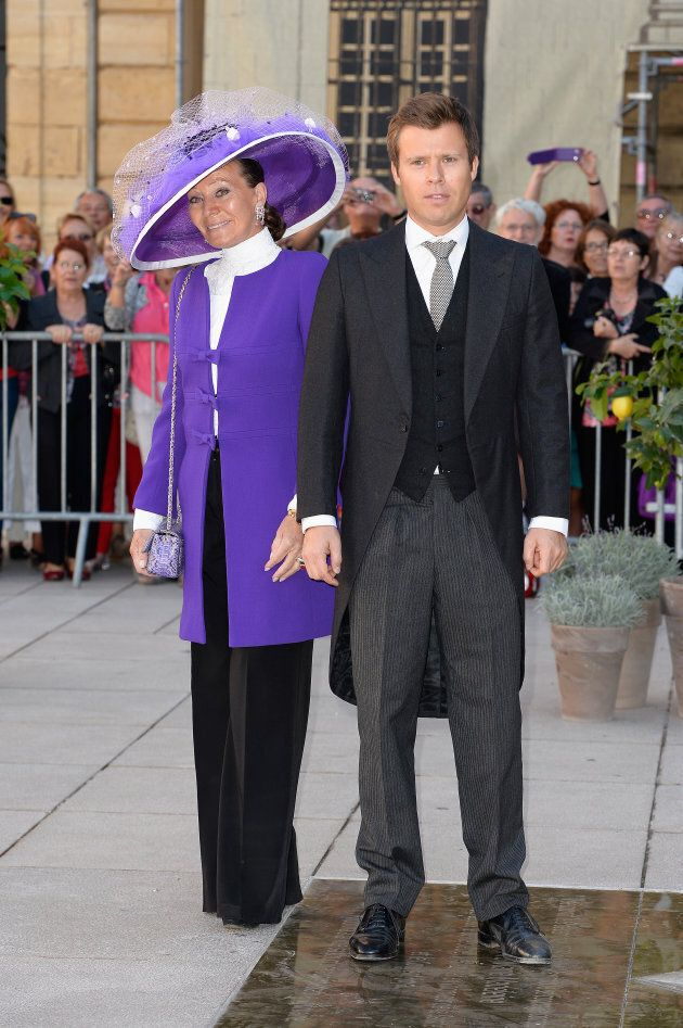 Princess Isabelle Of Liechtenstein and Prince Wenzeslaus Of Liechtenstein in 2013.