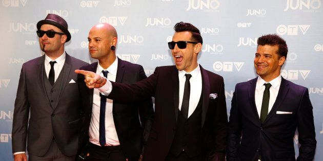 Hedley arrive at the 2015 Juno Awards in Hamilton, Ont., March 15, 2015. A flurry of claims from anonymous...