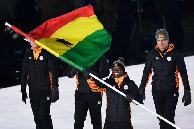Akwasi Frimpong was the lone Ghanaian competing in