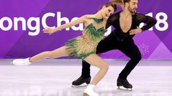French Figure Skater Refuses To Let Wardrobe Malfunction Halt Her