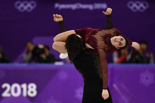 Canada's Tessa Virtue and Canada's Scott Moir won gold in ice dance at the PyeongChang Olympics.