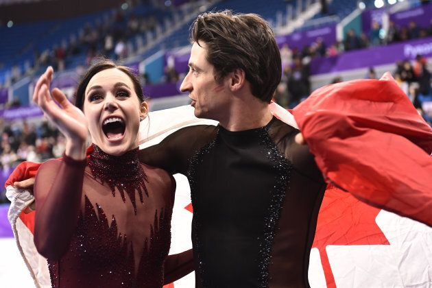 Canada's Tessa Virtue and Scott Moir have won five Olympic medals, the most of any figure skaters in