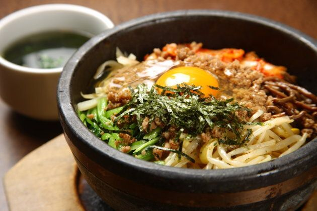 Bibimbap is a Korean staple.