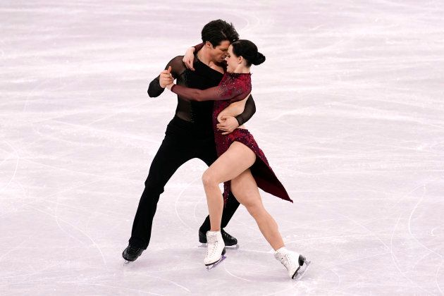 Tessa Virtue and Scott Moir win gold for ice dance at the PyeongChang