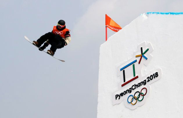 Mark McMorris of Canada competes.
