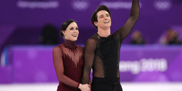 Tessa Virtue and Scott