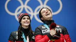 Tessa And Scott's Last Olympic Ice Skate Won Gold And Stole