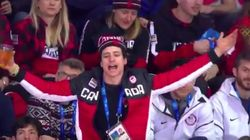 Scott Moir Is The Canadian Women's Hockey Team's Biggest