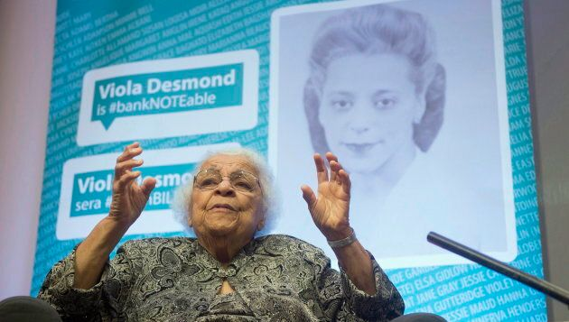 Wanda Robson speaks about her sister, Viola Desmond, during an interview in Gatineau, Que. on Dec. 8, 2016. Desmond will be the first Canadian woman on a Canadian banknote.
