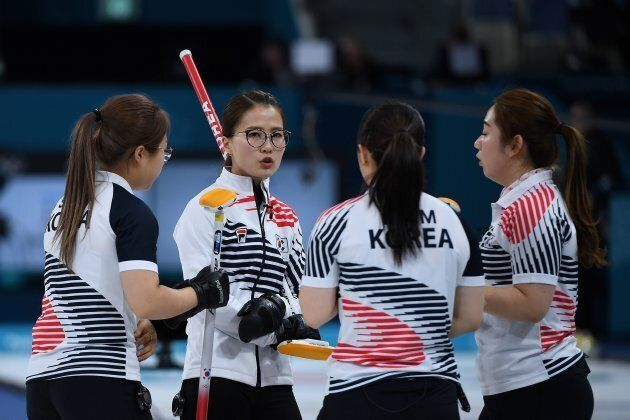Korea's women's curling team have become national