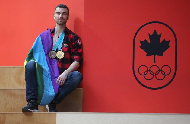 Eric Radford became the first out gay athlete to win a gold medal at an Olympic