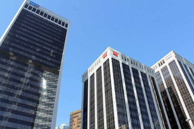 The Bentall Centre, a complex of office buildings in downtown Vancouver, is one of the properties now under the control of the Chinese government, following its seizure of Anbang's assets.
