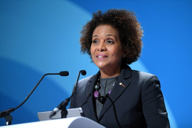 Secretary General of the Organisation internationale de la Francophonie, Michaëlle Jean.