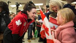 Tessa Virtue, Scott Moir Get Patriotic Welcome Home From Canadian