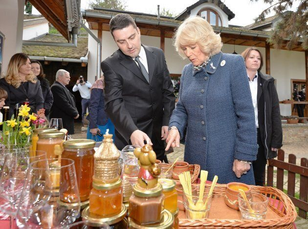The Duchess of Cornwall really loves her honey.